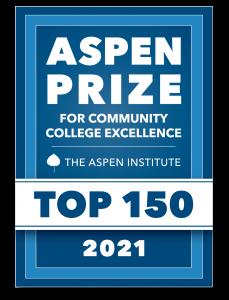 Aspen Prize Top 150 badge