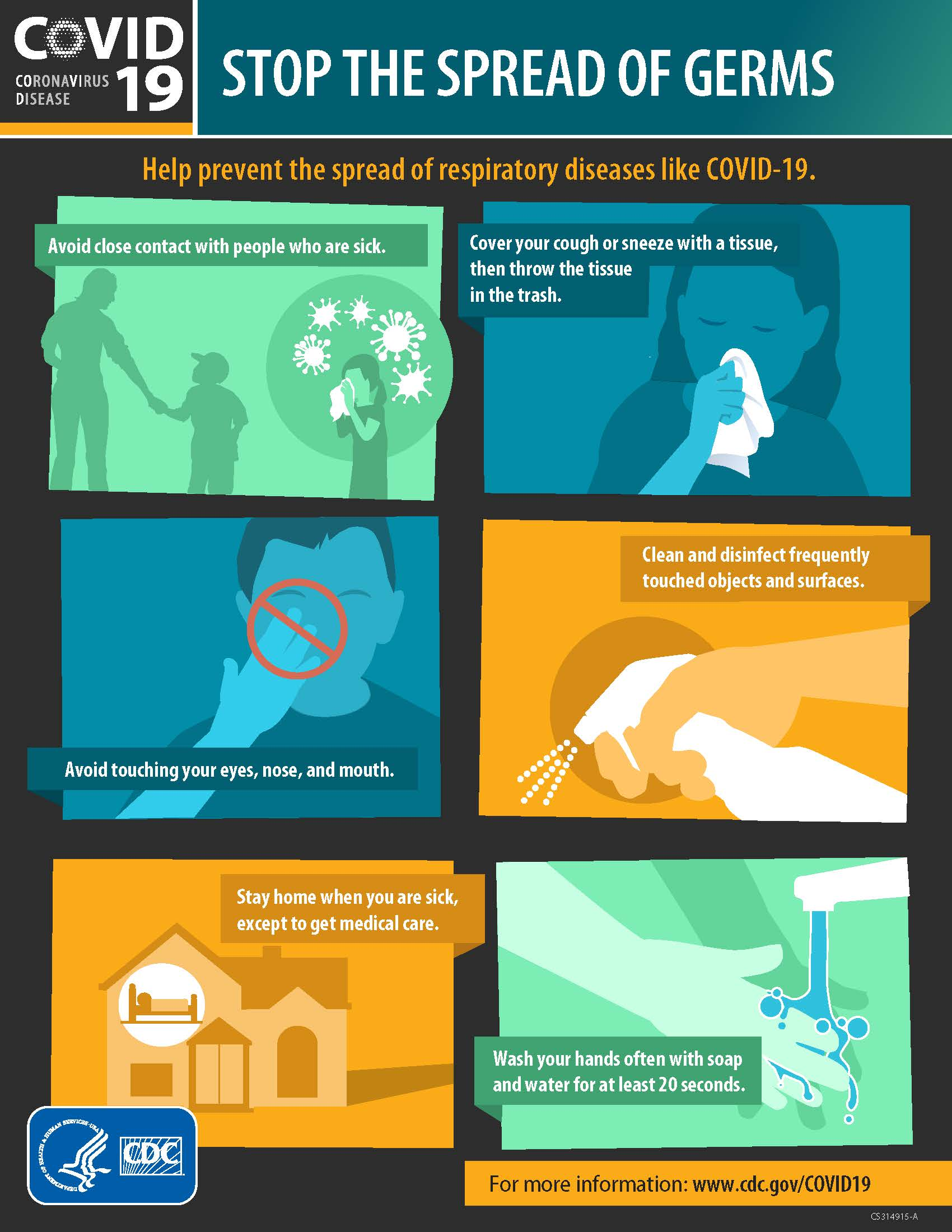 graphic on preventing coronavirus