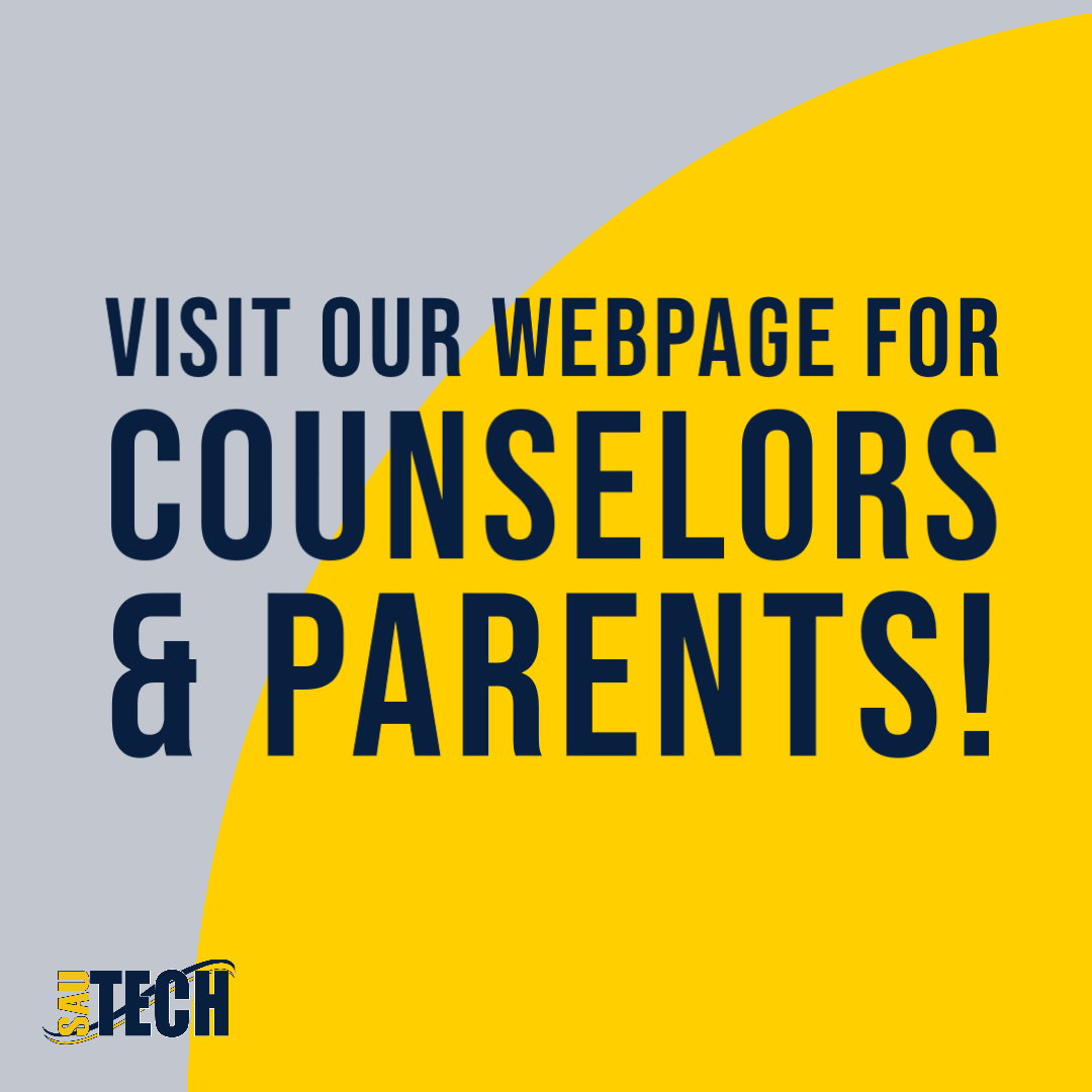 graphic for counselors and parents webpage