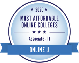 badge for most affordable IT degree