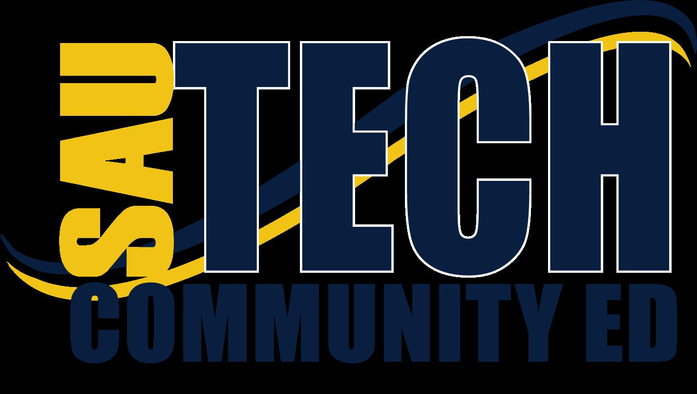logo says community education