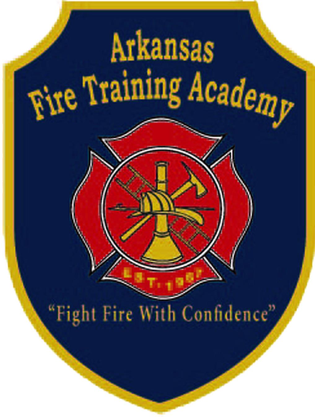 logo for the Arkansas Fire Training Academy